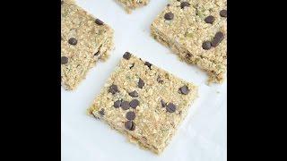 5 Minute Granola Bars (vegan And Gluten Free)
