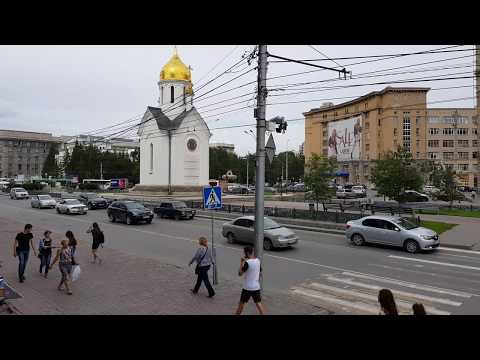4K Novosibirsk: City center