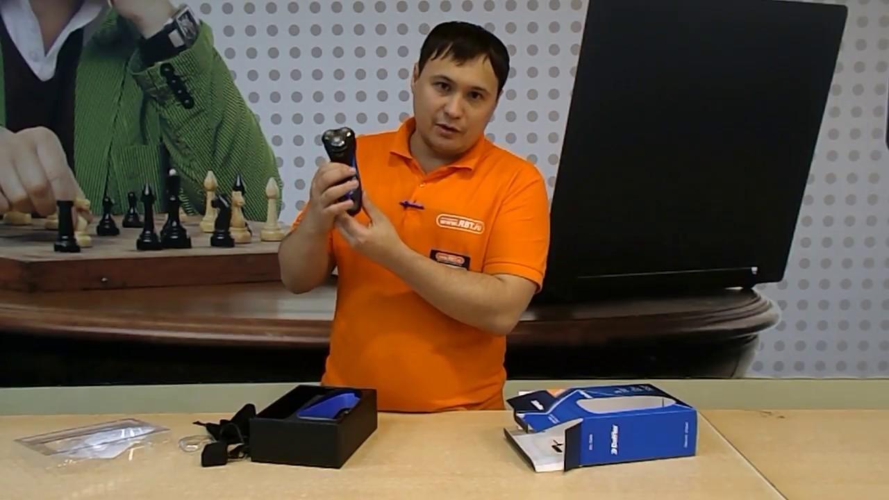 Видеообзор бритвы DOFFLER RS1569 со специалистом от RBTru