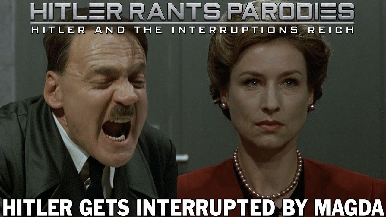 Hitler gets interrupted by Magda