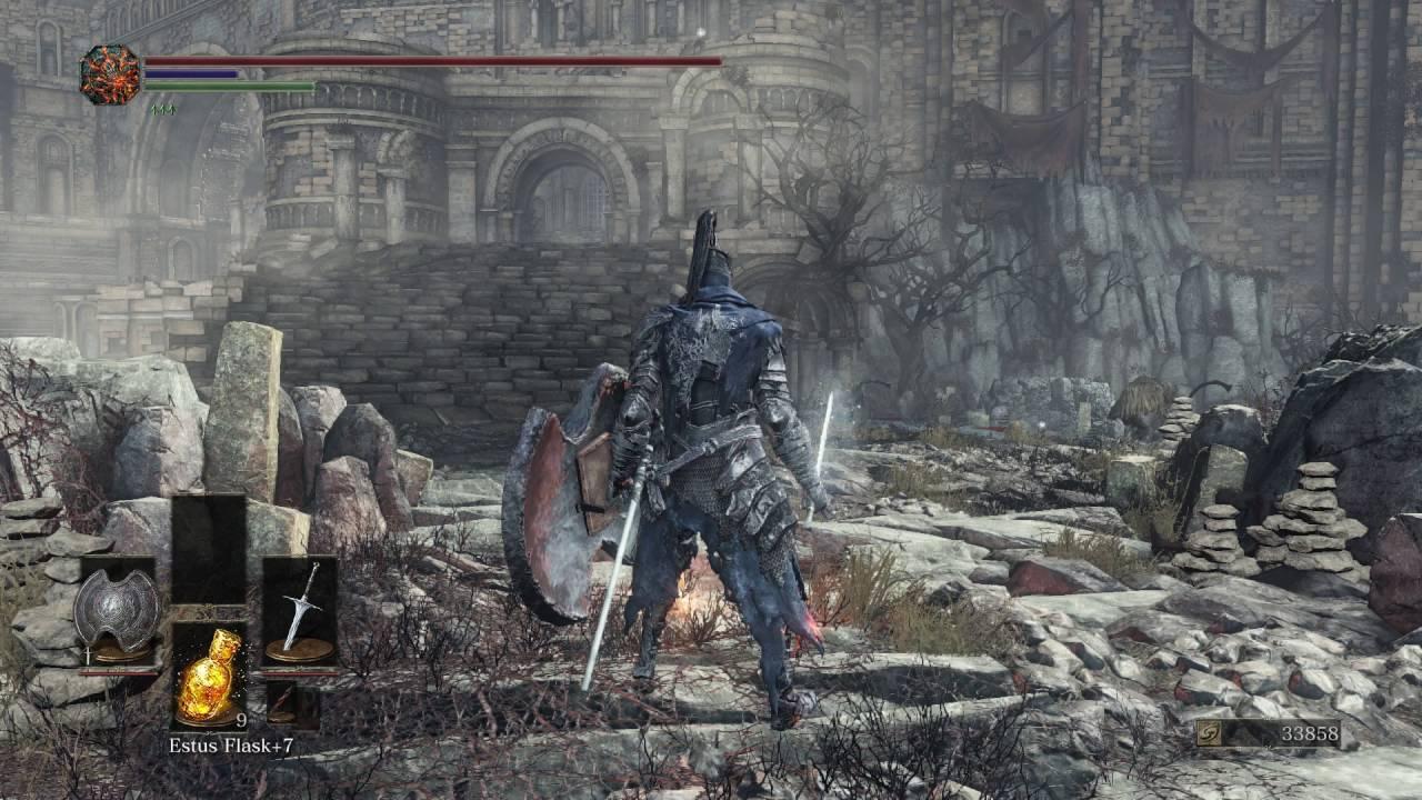 Dark Souls Lll Archdragon Peak Serpent Men Combat Lightning