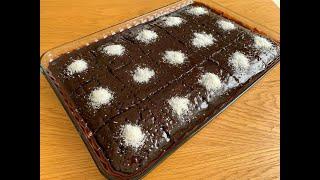 Bol Soslu En Kolay Islak Kek Nasıl Yapılır? Diğer Tarifleri Unutacaksınız! Garanti Islak Kek Tarifi