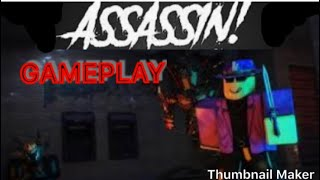 ROBLOX GAMEPLAY(assassin)