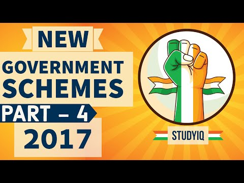 Latest government schemes of 2017 explained in HINDI -Part 4- Analysis with important questions