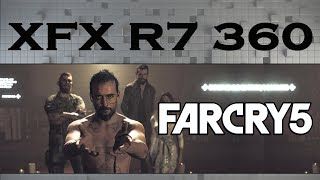 Far Cry 5 (R7 360 2GB + FX 6300) 1080p, 900p e 768p | Gameplay Benchmarks