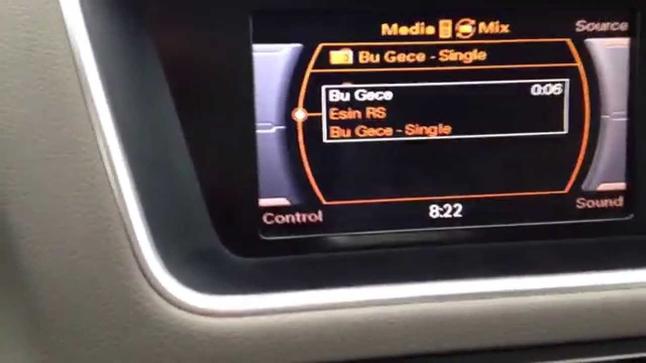 How To Display Spotify Playing Song Info On Audi Concert