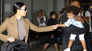 Kim Kardashian And Kanye West Incite Chaos Returning To LA