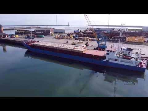 Boka Topaz and MV Rigg on Port of Sunderland River Berths