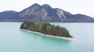 Beautiful Bavaria Walchensee Mit Der DJI Mavic 2 Pro Und Osmo Pocket Teil 3