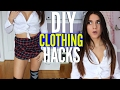 10 DIY CLOTHING LIFE HACKS For TEENAGERS You Have NEVER SEEN !!!