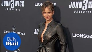 Halle Berry is drop dead gorgeous at the John Wick 3 premiere