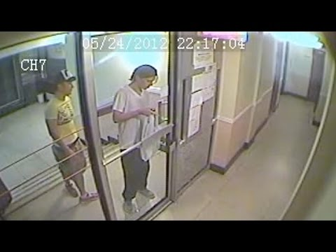 Luka Magnotta caught on security camera