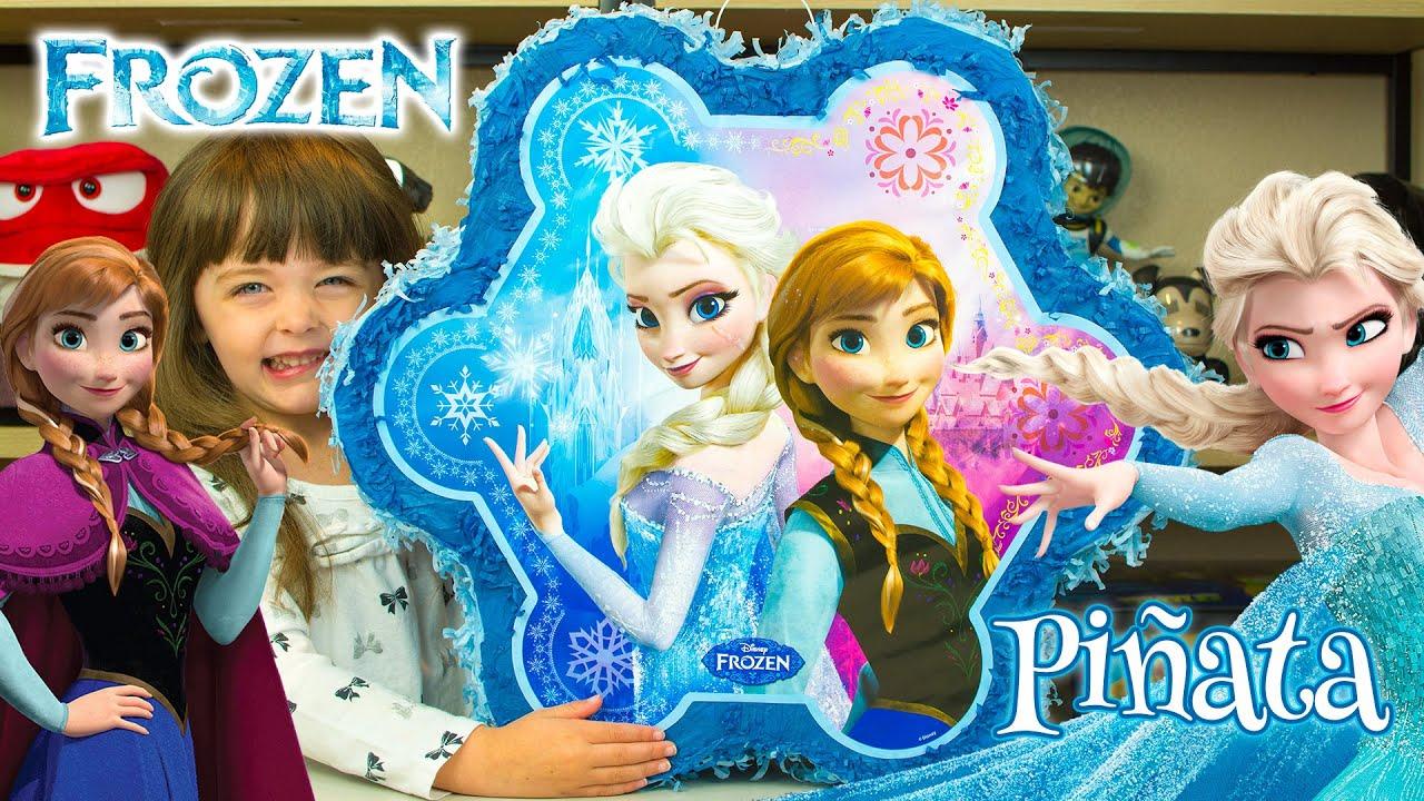 Disney Frozen Surprise Toy Pinata TSUM TSUM Blind Bags Disney Toys My Little Pony Kinder Playtime - YouTube  sc 1 st  YouTube & Disney Frozen Surprise Toy Pinata TSUM TSUM Blind Bags Disney Toys ...