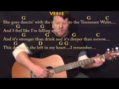 Tennessee Waltz - Fingerstyle Guitar Cover Lesson in G with Chords/Lyrics - G C D F
