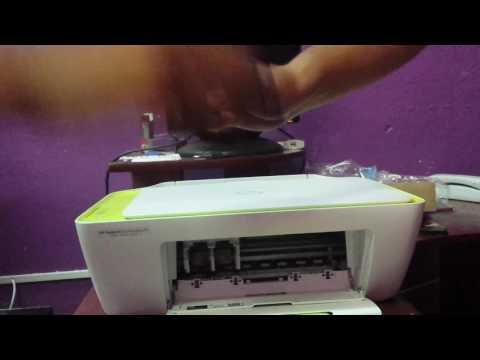 Como instalar multifuncional HP 2135