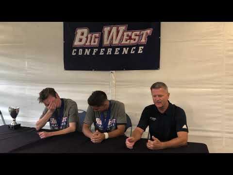 Big West Championship - UC Davis' Postgame Press Conference