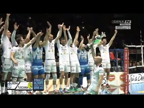 Emma Villas Siena - Tuscania  (Post-partita Finale Coppa Italia) 29012017
