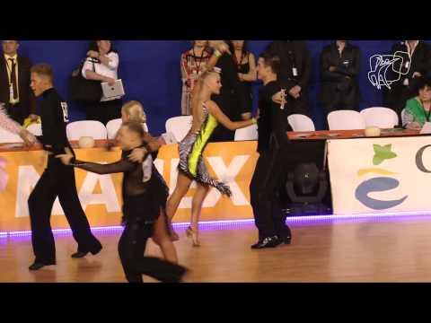 Gustafsson - Granath, SWE | 2014 Euro Youth LAT R1 S | DanceSport Total