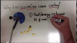 Evaporation and cooling
