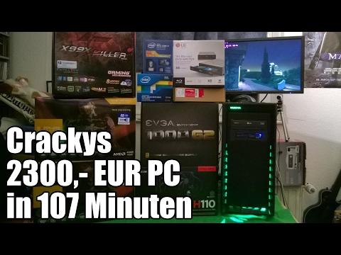 Ein 2300,- EUR PC entsteht - Zusammenbau + Test in 107 Minuten