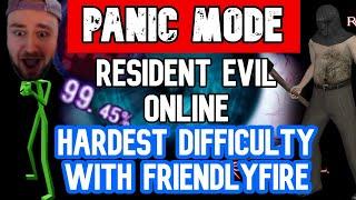 PANIC MODE!! Outbreak ONLINE - Resident Evil: Outbreak File 2 - FlashBack