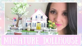 Watch while I make the smallest dollhouse ever!! This is a DIY dollhouse I purchased so you can super easily get your own. It is the