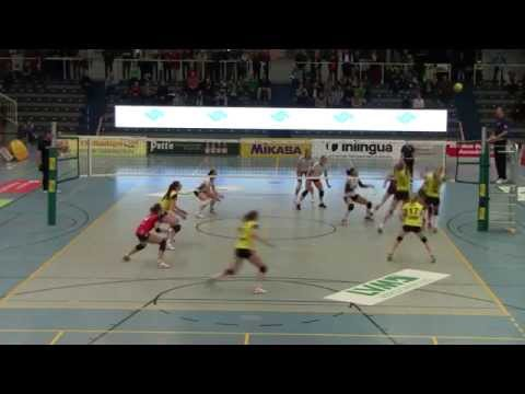 LORENA ZULETA USC V.s VST Suhl Play off (Germany) 2015/03/04