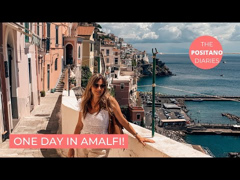 WHAT TO SEE IN AMALFI AND ATRANI IN A DAY - The Positano Diaries Ep 37