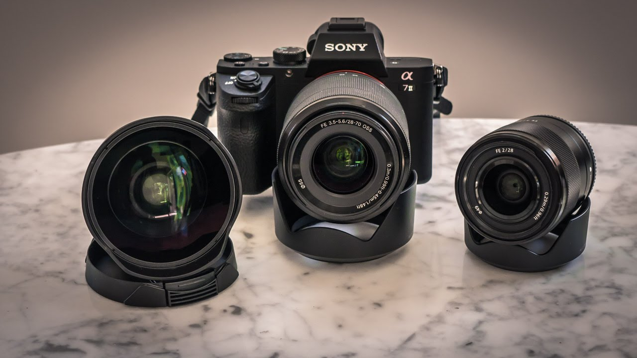 Sony 28mm F2 And Fisheye Conversion Lens Funnydog Tv