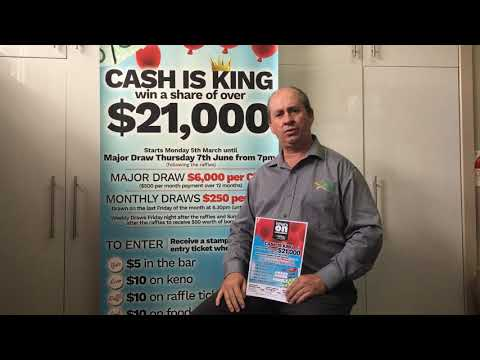 Cash is King Promotion