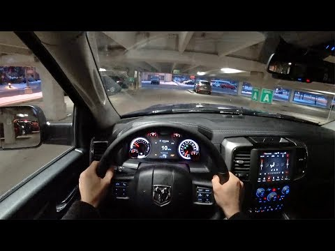2018 Ram 1500 Sport Crew Cab 4x4 - POV Night Drive (Binaural Audio)