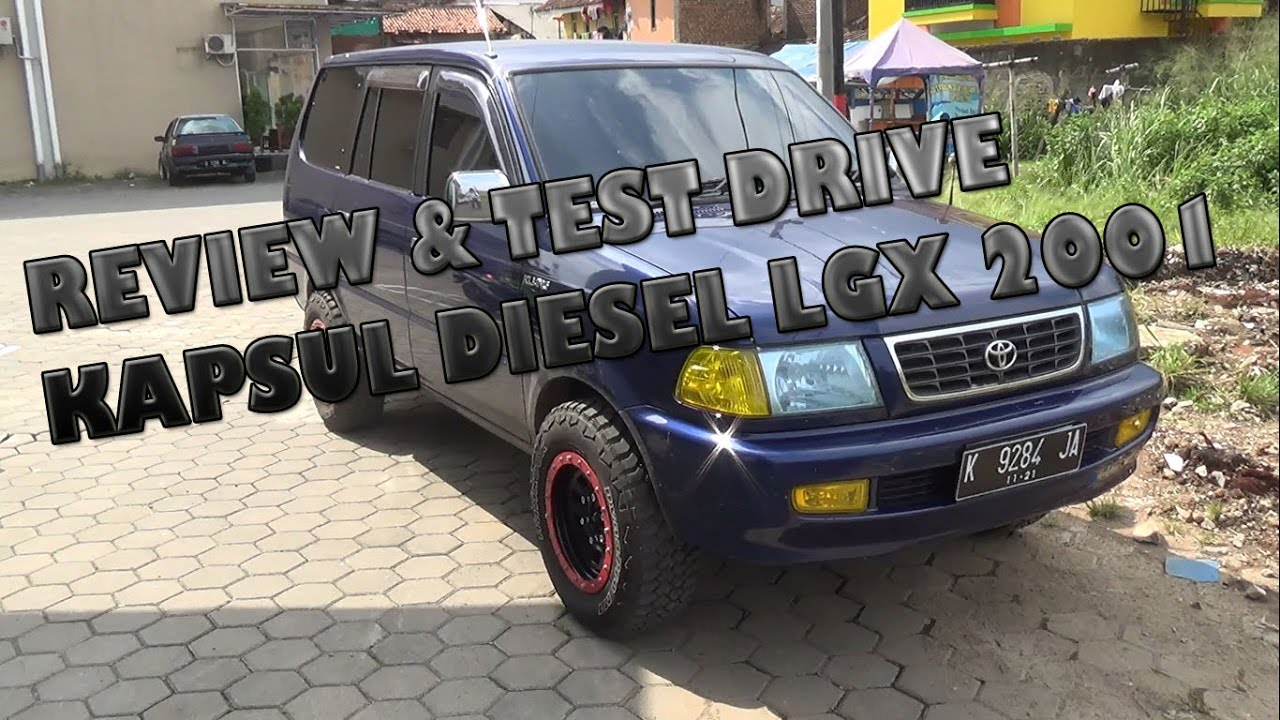 Review  U0026 Test Drive Toyota Kijang Lgx Diesel Tahun 2001