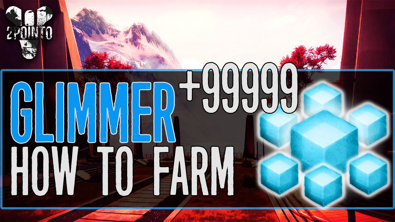 Destiny glimmer farming how to get glimmer the taken