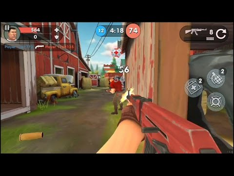 Guns Of Boom Online Shooter By Game Insight Shooting Game For Android And Ios Gameplay