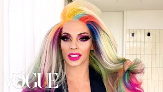RuPaul's Drag Race Star Alyssa Edwards' Guide to Pretty in Pink Makeup | Beauty Secrets | Vogue