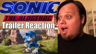 Sonic The Hedgehog (2020) - New Official Trailer REACTION