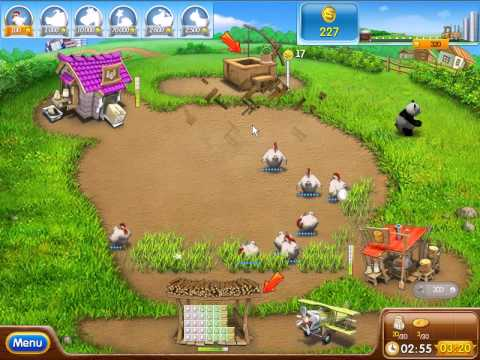 Farm Frenzy 2 gameplay mission 10