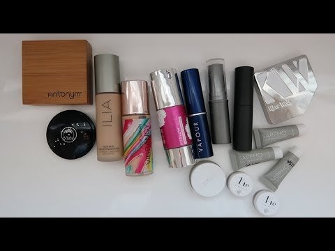 The Line Up // (Eco/Organic) FOUNDATIONS [Liquid, Serum, Cream, Powder] | L'Amour et la Musique