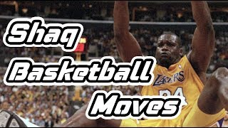 Shaquille O'Neil Perimeter Basketball Moves