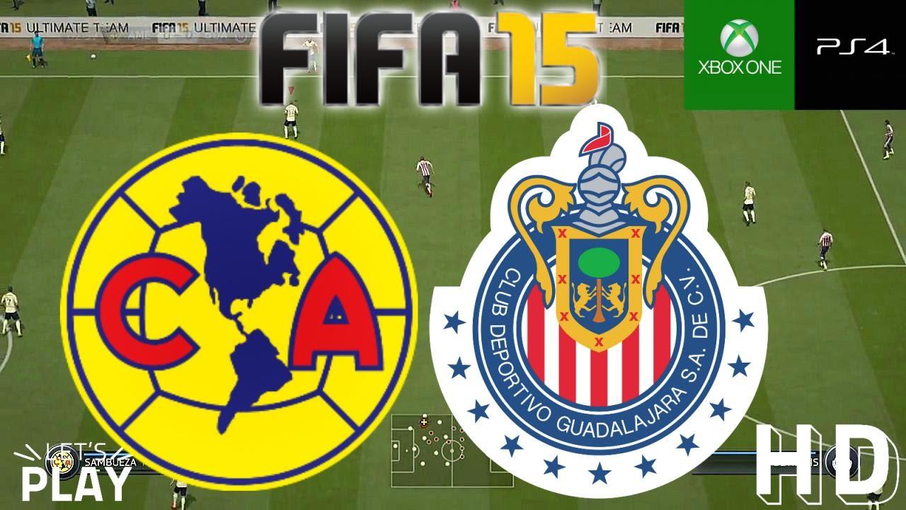 Fifa 15 Gameplay America Vs Chivas Guadalajara Youtube