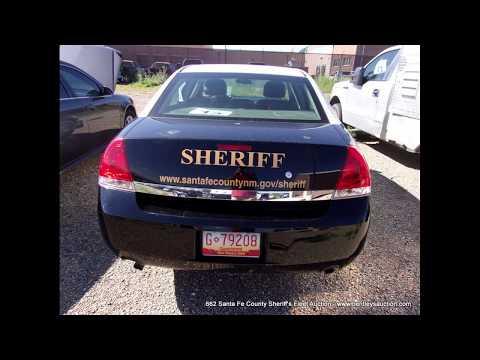 662 Santa Fe County Sheriff's Fleet Auction