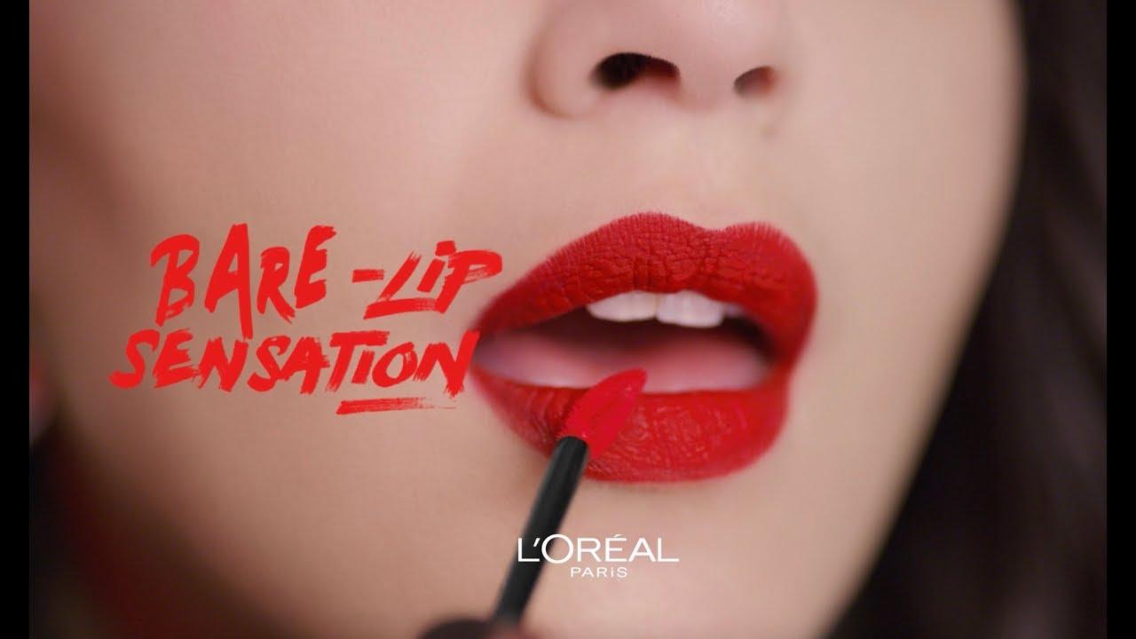 Loréal Paris Rouge Signature Matte Liquid Lipstick Youtube