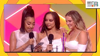 Little Mix wins British Group | The BRIT Awards 2021