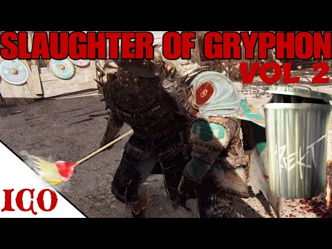 New Hero GRYPHON Destroyed With NO BASH [For Honor] |