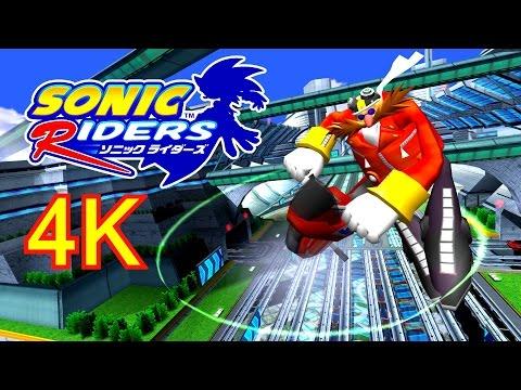 Sonic Riders  Metal City  Eggman 4K HD Widescreen 60 fps no HUD