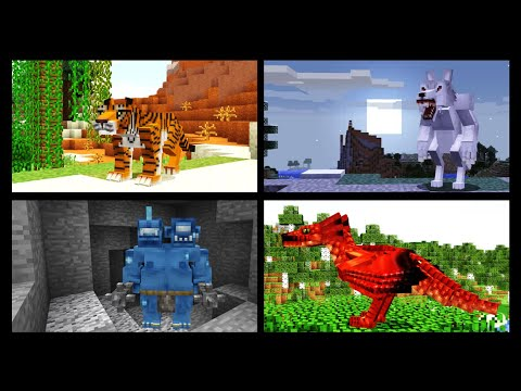 All 58 Mobs In Mo' Creatures - Minecraft