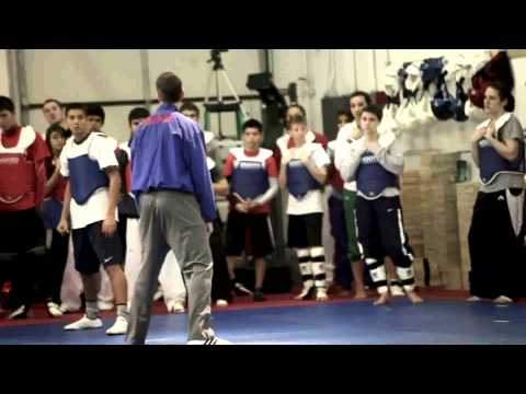 AAU National Taekwondo Team Training