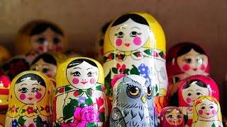 Russian handicrafts: Matryoshka, the nesting doll