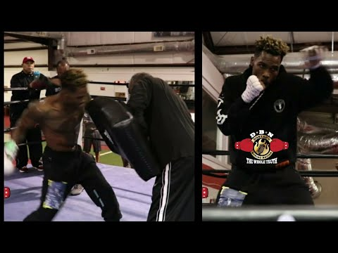 JERMALL CHARLO IN LION MODE!! ENTIRE MEDIA WORKOUT FOR CENTENO