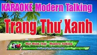 Một Mình Thôi ( Trang Thư Xanh ) Karaoke 8795 | Điệu Modern Talking Độc Và Lạ - Nhạc Sống Thanh Ngân